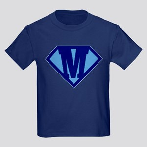 Super Hero Letter M T-Shirt
